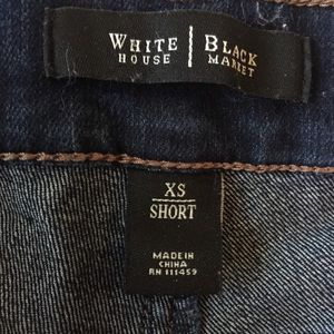 White House Black Market Jeans - White House Black Market dark skinny jeans